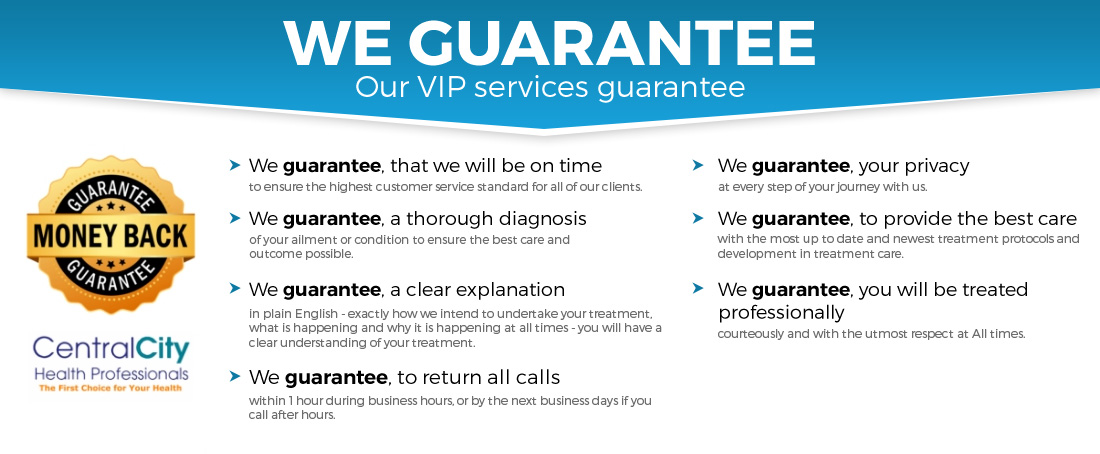 Our VIP Service Guarantee-Perth Exercise Physiology